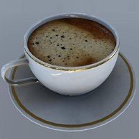 coffee cup coffe 3D model