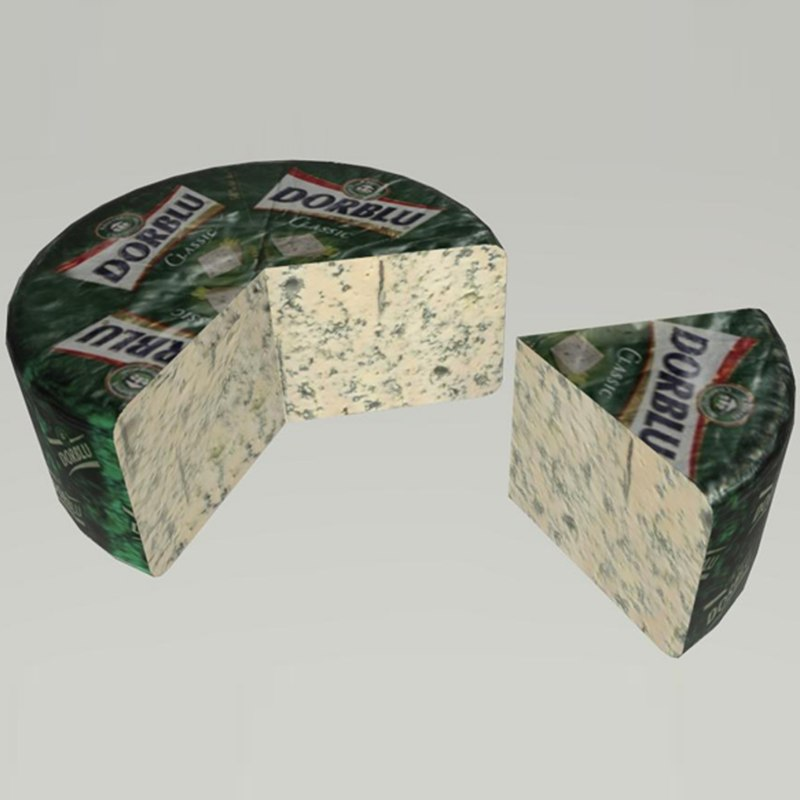 blue cheese piece model