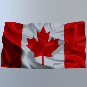 canada flag model