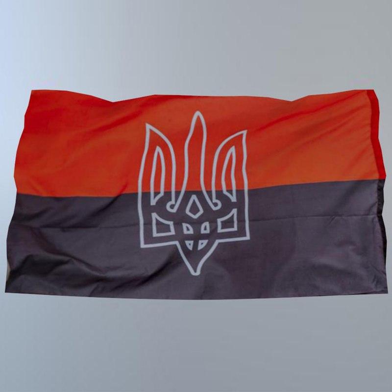 3D flag ukraine model
