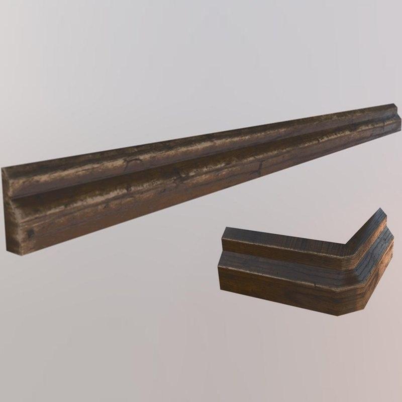 floor trim 3D model
