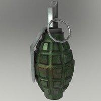 Frag Grenade F1