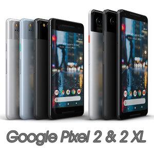 google pixel 2 xl model