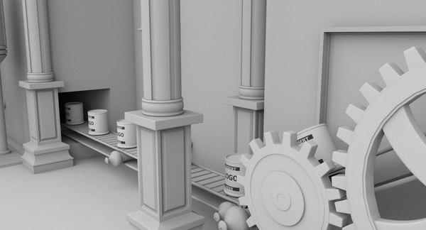scene factory interior max