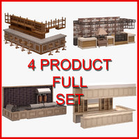 Bar Furniture Set 01