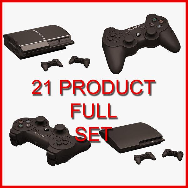3D 21 set