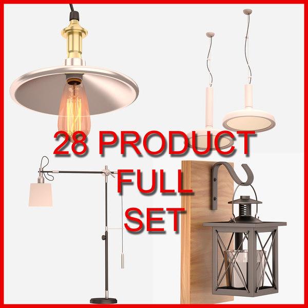 28 set 3D model