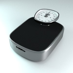 vintage person weight scale ma
