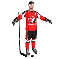 Hockey Player Canada