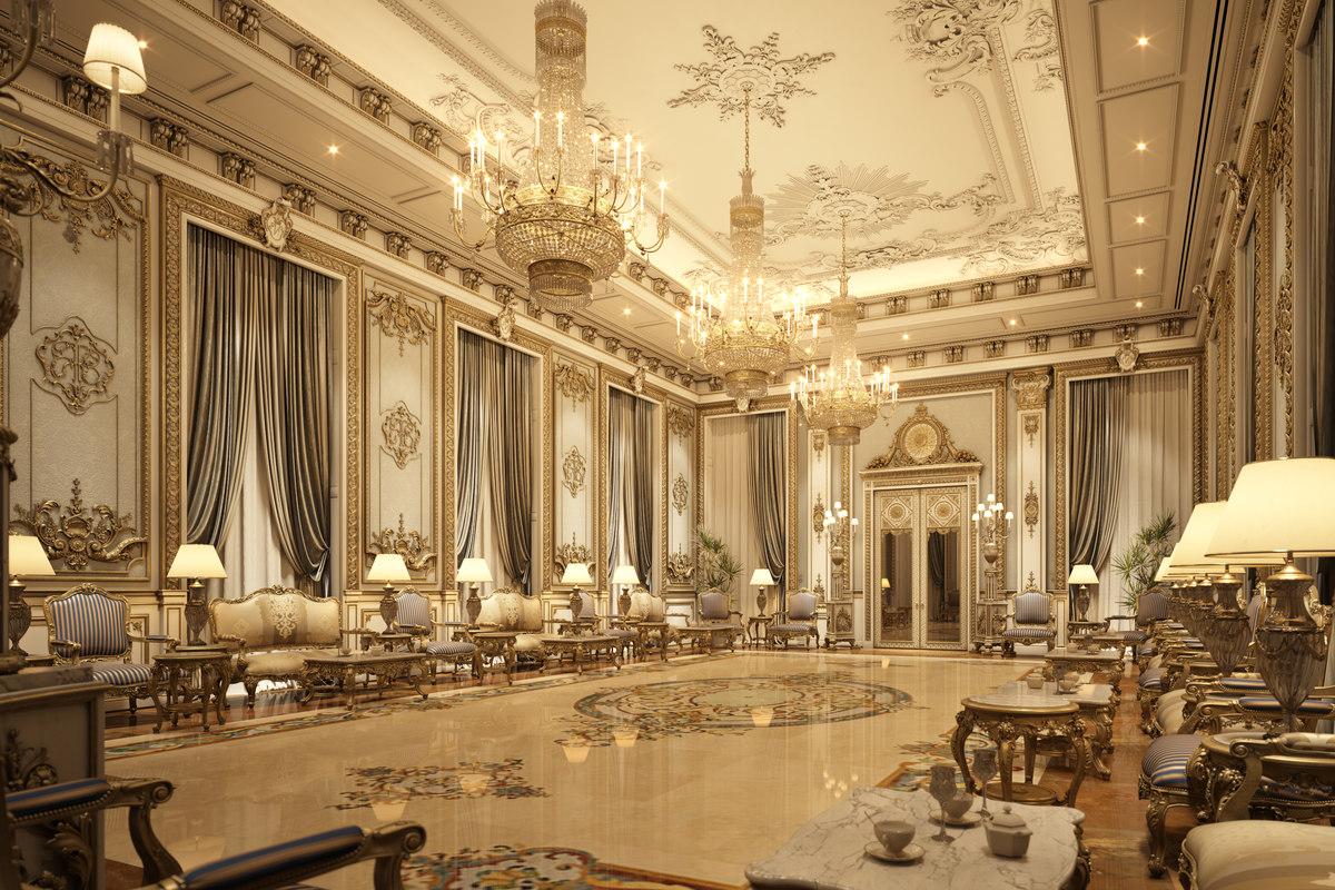 astounding 3d luxury living rooms | 3D interior scene luxury living room - TurboSquid 1238792