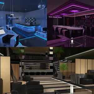 stonette nightclub 2 obj