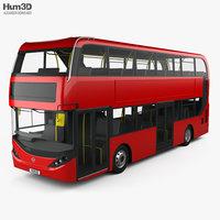 Alexander Dennis Enviro400H City Double Decker Bus 2015