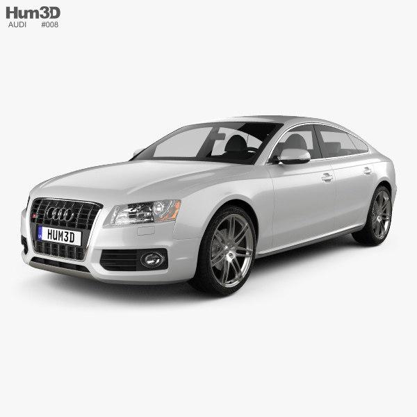 3d model audi s5 sportback 2011