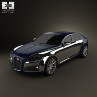 bugatti galibier 3d model