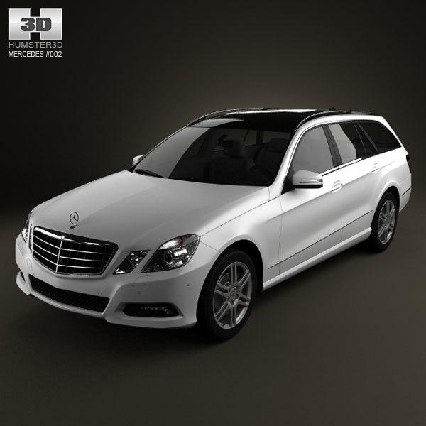 3d model mercedes-benz estate
