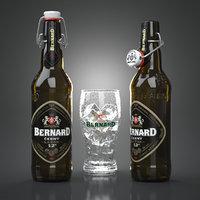 bernard cerny beer bottles 3d max