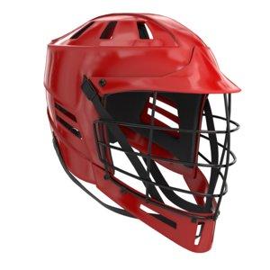 lacrosse metal facemask 3D model