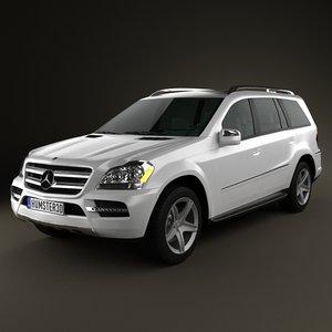 mercedes-benz gl 2010 3d model