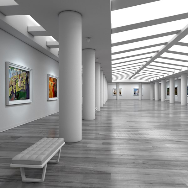 art gallery 3ds