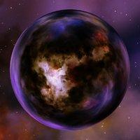 Nebula Space Environment HDRI Map 002