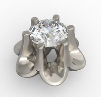 Bezel for diamond