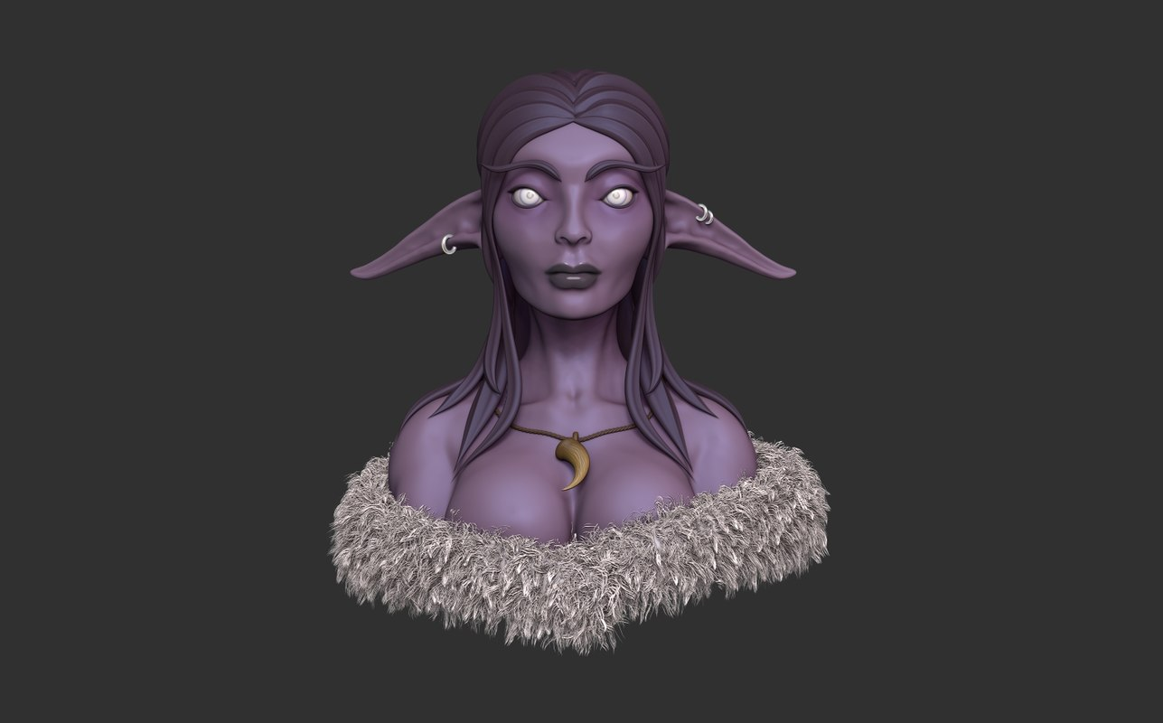 night elf model