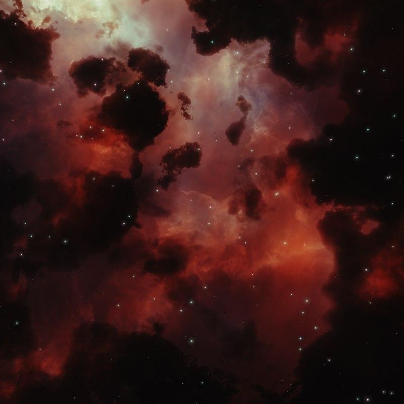 Nebula Space Environment HDRI Map 005