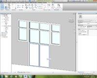 Revit family Door with window full parameter