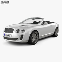 3d max bentley continental supersports