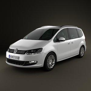 3d sharan vehicle 2010 model