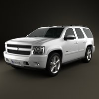 chevrolet tahoe 3ds