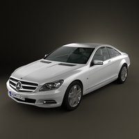 mercedes-benz cl 2011 3ds