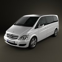 3d mercedes-benz viano mercedes model