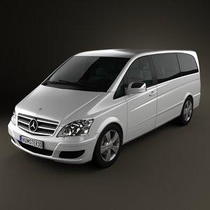 mercedes-benz viano mercedes 3d model
