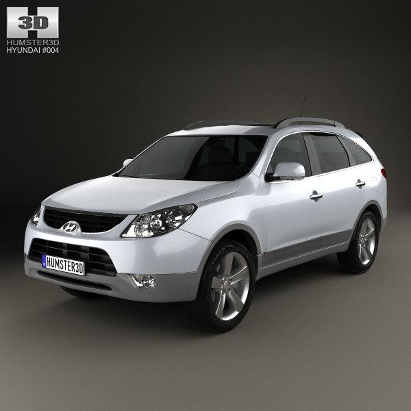 3d hyundai ix55 veracruz model