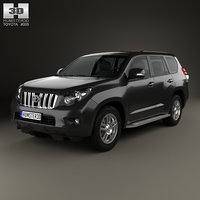 Toyota Land Cruiser Prado 5-door 2010