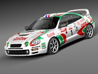 3d toyota celica gt-four sport model