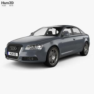 3d audi a6 sedan model