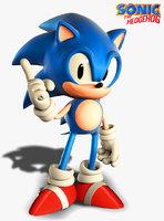CGI Classic Sonic