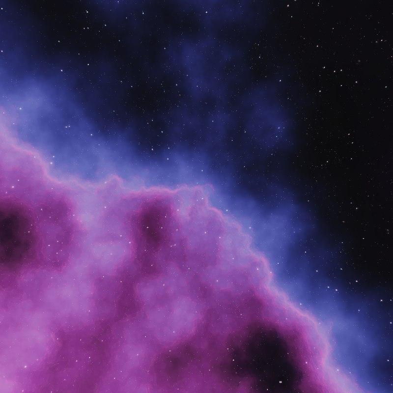 Nebula Space Environment HDRI Map 006