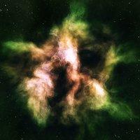 Nebula Space Environment HDRI Map 007