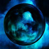 Nebula Space Environment HDRI Map 009