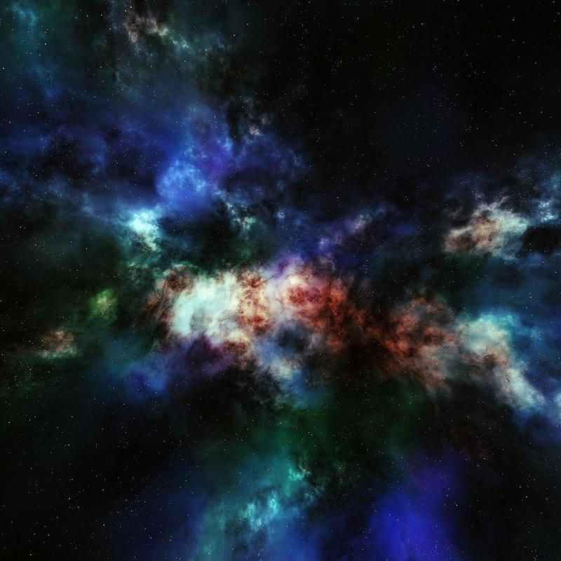 Nebula Space Environment HDRI Map 012