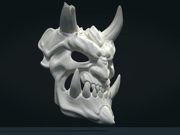 demon mask model