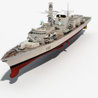 royal navy somerset 3D model