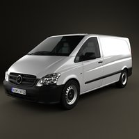 Mercedes-Benz Vito W639 Panel Van Long 2011