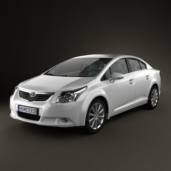 car standard 3d model