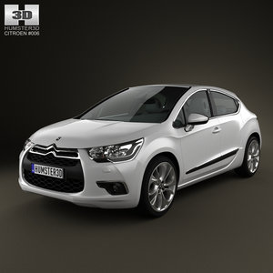 3d model citroen ds4 vehicle