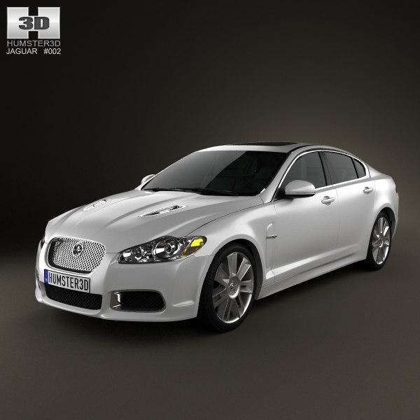 3d model xfr 2011 xf