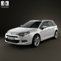 3ds max citroen c5 tourer 2011